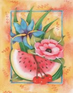 Fruit and Flowers B7 Main Gallery Wendy Carleton