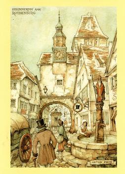 Anton Pieck Rothenberg Print - 10