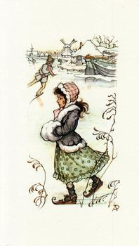 The Ice Skater - Girl Mini Print Size 3