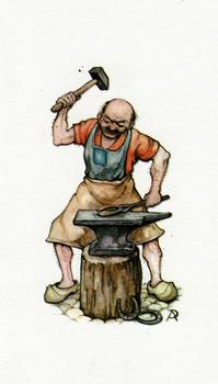 Anton Pieck The Blacksmith - 3