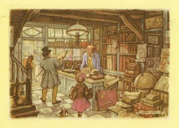 Anton Pieck The Book Shop - 8