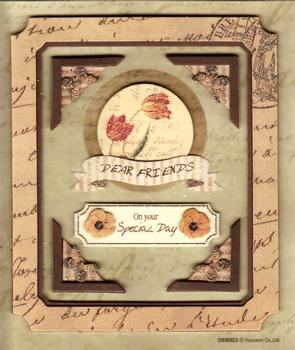 Special Friend / Dear Friend - Topper with Corners & Sentiments Included -Jacksons mail Order