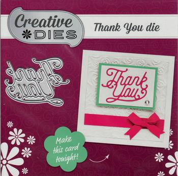 Thank You Craft Die by Creative Die . *