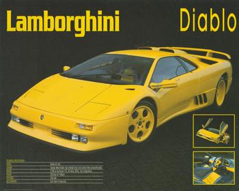 Lamborghini - Diablo - Yellow Sports Car - 10