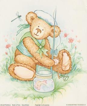 Teddy Fishing - 5