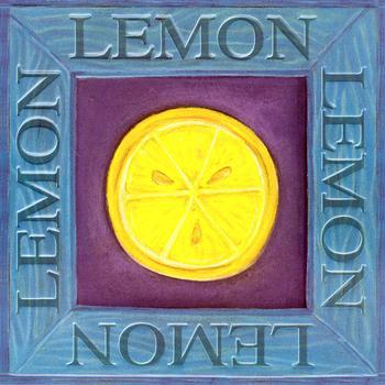 Fruit Topper - Lemon . *