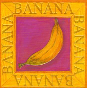 Fruit Topper - Banana . -