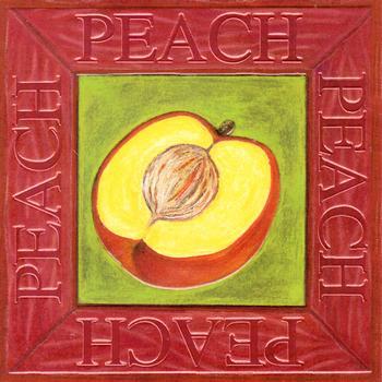 Fruit Topper - Peach . *
