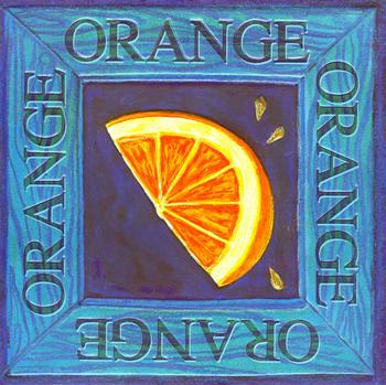 Fruit Topper - Orange 6.5