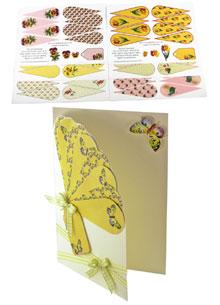 Pack of 6 fan cards fan1/2/4/5/6/12 . papertole.co.uk
