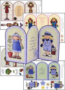 Humorous Folding Cards Pack  fold01/06/42/43 . papertole.co.uk