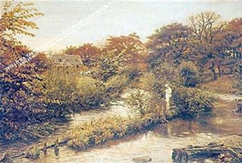 Flowing To The River by Sir John Everett Millais by *** Selby Prints*** 730mm x 530mm (JAsp) . -