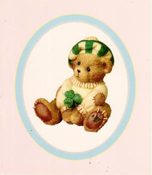Clover Leaf Bear Kits Priscilla Hillman