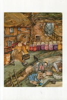 Harvest Mouse - The Jam Shop - by Jane Pinkney size Excluding Boarder 5.1