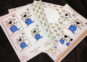 4 Sheet Cat Kit inc Envelope . *