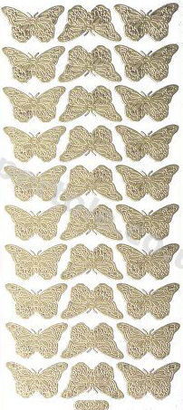 Butterflies   83 Peel Off Stickers Le Suh