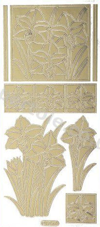 Daffodils 2   93 Peel Off Stickers Le Suh