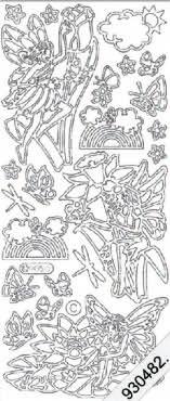 Fairies 2   100 Peel Off Stickers Le Suh