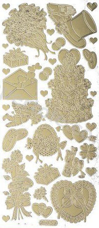 Wedding 1   113 Peel Off Stickers Le Suh
