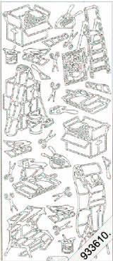 Builder and Decorator   139 Peel Off Stickers Le Suh
