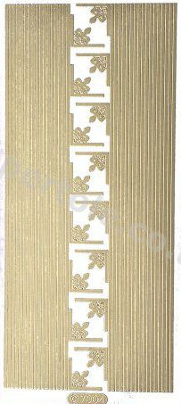 Borders and Corners 2   163 Peel Off Stickers Le Suh