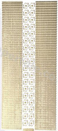 Borders and Corners 8   169 Peel Off Stickers Le Suh