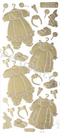 Baby Clothes 2   201 Peel Off Stickers Le Suh