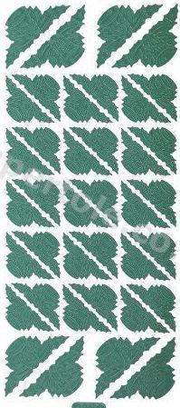 Xmas Corners 4   290 Peel Off Stickers Le Suh