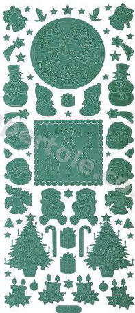 Christmas Various 2   293 Peel Off Stickers Le Suh