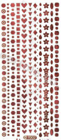 Small Shapes   303 Peel Off Stickers Le Suh
