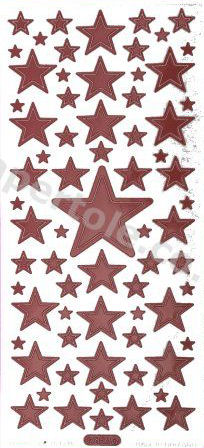Christmas Stars   320 Peel Off Stickers Le Suh