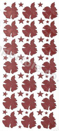 Christmas Bells 1   323 Peel Off Stickers Le Suh