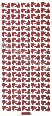 Xmas Corners 1   333 Peel Off Stickers Le Suh