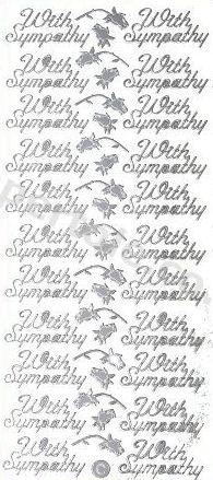 With Sympathy   370 Peel Off Stickers Le Suh