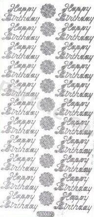 Happy Birthday   371 Peel Off Stickers Le Suh