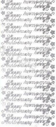Happy Anniversary  373 Peel Off Stickers Le Suh