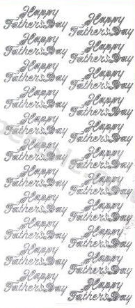 Happy Fathers Day   380 Peel Off Stickers Le Suh