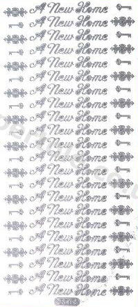 A New Home   388 Peel Off Stickers Le Suh
