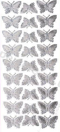 Butterflies   397 Peel Off Stickers Le Suh