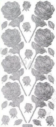 Roses 2   401 Peel Off Stickers Le Suh
