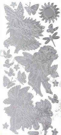 Fairies 1   405 Peel Off Stickers Le Suh
