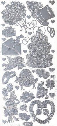 Wedding 1   416 Peel Off Stickers Le Suh