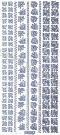 Borders and Corners 3   465 Peel Off Stickers Le Suh