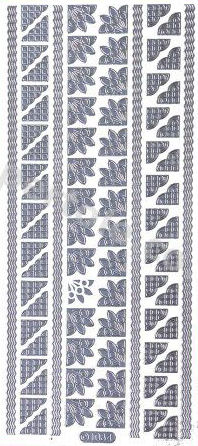 Borders and Corners 5   467 Peel Off Stickers Le Suh