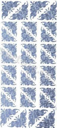 Corners 4   484 Peel Off Stickers Le Suh