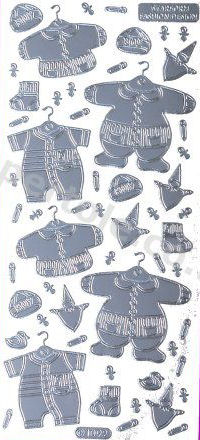 Baby Clothes 1   499 Peel Off Stickers Le Suh