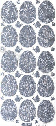 Floral - Easter Eggs   513 Peel Off Stickers Le Suh