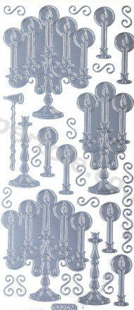 Candlesticks   516 Peel Off Stickers Le Suh