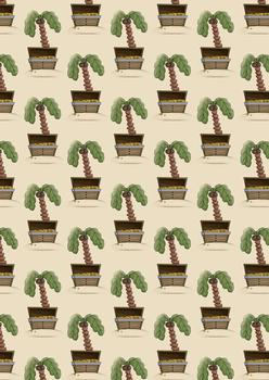 Palm Tree & Treasure BACKGROUND SHEET - Part of the Pirates Range -Jacksons mail Order