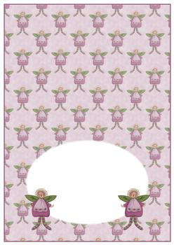 Cute Fairy - INSERT SHEET - From The Penny Slider Range . -Jacksons mail Order